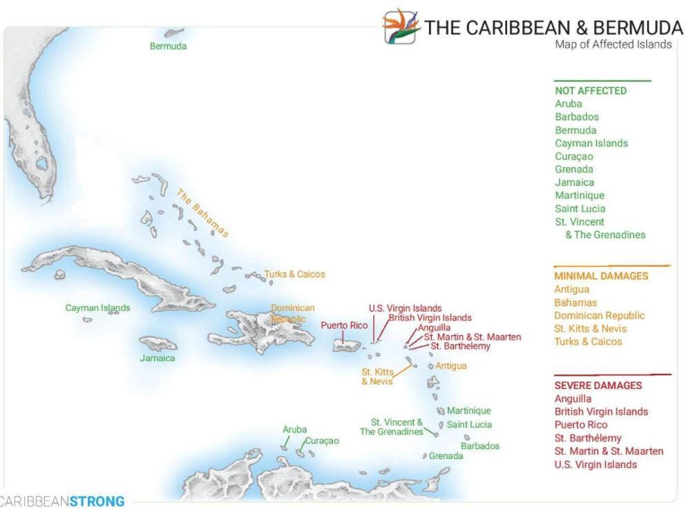 The Caribbean & Bermuda Hurricane Damage Update - September 29th, 2018